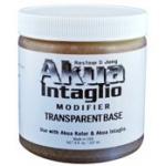 Akua 16 oz. Light Amber Transparent Base; Size: 16 oz; Type: Printing; (model IITB16), price per each