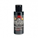 Wicked Colors™ 32oz Black Airbrush Paint; Color: Black/Gray; Format: Bottle; Size: 32 oz; Type: Airbrush; (model W002-32), price per each