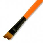 Dynasty® Urban FX Synthetic Saw Curve Brush 1/2: Long Handle, Synthetic, Saw Curve, 1/2, Urban Art, (model FM35338), price per each