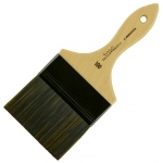 Princeton™ Catalyst™ Polytip Bristle Brush Mottler 100 Short Handle; Length: Short Handle; Material: Synthetic; Shape: Mottler; Size: 100; Type: Acrylic; (model 6450M-100), price per each