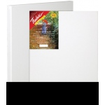 "Fredrix® Artist Series Red Label 6"" x 9"" Stretched Canvas: White/Ivory, Sheet, 6"" x 9"", 11/16"" x 1 9/16"", Stretched, (model T5009), price per each"