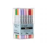 Copic Ciao Marker Set: Set A, 24 Markers
