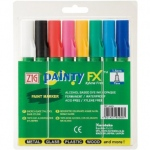 Zig®  Painty FX® Paint Marker 8-Color Set: Multi, Alcohol-Based, Dual, (model PPF-20/8V), price per set