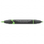 Prismacolor® Premier Brush Marker Neon Green; Color: Green; Double-Ended: Yes; Ink Type: Alcohol-Based, Dye-Based; Tip Type: Brush Nib, Fine Nib; (model PB181), price per each