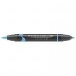 Prismacolor® Premier Brush Marker Ultramarine Light; Color: Blue; Double-Ended: Yes; Ink Type: Alcohol-Based, Dye-Based; Tip Type: Brush Nib, Fine Nib; (model PB244), price per each