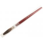 Mack Brown Pencil Quill Series 179L: #18, With Red Lacquered Handle