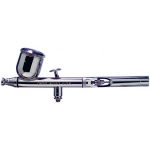 Badger Omni Series T89 Dual Action Airbrush: Gravity Feed, Internal Mix
