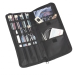 "ArtBin Hook and Needle Folio: Raspberry/Black, 15.13"" X 6.63"" X 1.38"""