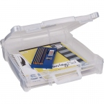 "ArtBin Essentials Box  with handle Translucent Clear: 12"" x 12"""