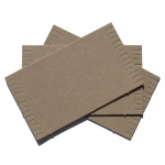 "Inovart Cardboard Mini Looms 3-1/2"" x 6"" - Package Of 12 Looms"