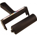 "Inovart 4"" Snap Out Soft Rubber Brayer"