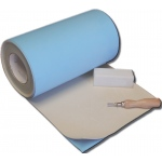 "Inovart Impress Synthetic Linoleum 1/8"" Thick - Roll 12"" x 30'"