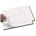 "Inovart Smooth-Cut Printing And Stamping Plates With Repositionable Adhesive Backing 1/8"" x 4' x 6""- 2 per pack"