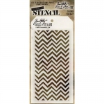 Stampers Anonymous - Tim Holtz - Stencil - Zigzag