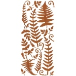 "Dazzles™ Stickers Copper Fern: Metallic, 4"" x 9"", Outline, (model HOTP2109), price per each"