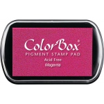 ColorBox® Full Size Ink Pad Magenta: Red/Pink, Pad, Pigment, Full Size Rectangle, (model CS15015), price per each