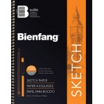 "Bienfang® Take Me Along™ 5 1/2"" x 8 1/2"" Sketch Book: Book, 100 Sheets, 5 1/2"" x 8 1/2"", Medium, 50 lb, (model 601SD-104), price per each"