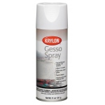 Krylon® Gesso Spray: 11 oz, Gesso, (model K7015), price per each