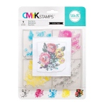 We R Memory Keepers - CMYK - Stamp Set  - Layered Stamp - Rose
