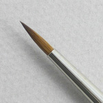 Kolinsky Sable Long Handle Round Brush # 5 (Made in Russia)