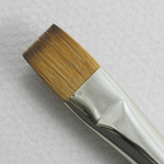 Kolinsky Sable Short Handle Bright Brush # 4 (Made in Russia)