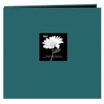 "Pioneer® 12 x 12 Fabric Frame Scrapbook Majestic Teal: Blue, Fabric, 10 Page Protectors, 12"" x 12"", (model MB10CBFN/MT), price per each"
