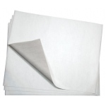 "Bienfang® 20"" x 26"" Graphite Transfer Paper; Color: White/Ivory; Quantity: 25 Sheets; Size: 20"" x 26""; Weight: 12.5 lb; (model 407767), price per 25 Sheets"