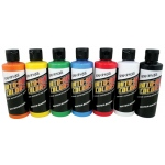 Auto-Air Colors™ Airbrush Paint Semi-Opaque Set: Multi, Bottle, 4 oz, Airbrush, (model 4948-01), price per set