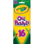 Crayola® Hexagonal Oil Pastel 16-Color Set: Multi, Stick, Oil, (model 52-4616), price per pack