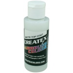 Createx™ Airbrush Top Coat Matte 2oz; Format: Bottle; Size: 2 oz; Type: Airbrush; (model 5603-02), price per each