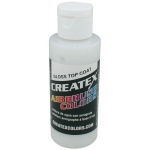 Createx™ Airbrush Top Coat Gloss 2oz; Format: Bottle; Size: 2 oz; Type: Airbrush; (model 5604-02), price per each