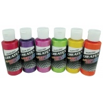 Createx™ Airbrush Pearlized 6-Color Set; Color: Multi; Format: Bottle; Size: 2 oz; Type: Airbrush; (model 5811-00), price per set