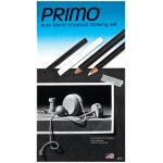 Primo® Euro Blend™ Charcoal Drawing Set; Color: Black/Gray, White/Ivory; Format: Pencil, Stick; (model 59), price per set