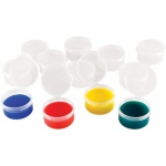 "Heritage Arts™ Mini Cups; Material: Plastic; Size: 3/4"" x 1 1/2""; Type: Cup; (model CUP12), price per pack"