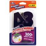 "Elmer's® Project Popperz™ Letters/Numbers/Symbols Black; Color: Black/Gray; Size: 2 1/2""; (model E3069), price per each"