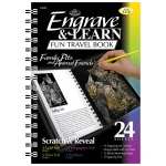 "Royal & Langnickel® Engrave & Learn Fun Travel Book Family Pets & Animal Friends: 7"" x 8 5/8"", Multi, (model EAB3), price per each"