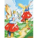 "Royal & Langnickel® Painting by Numbers™ 8 3/4 x 11 3/8 Junior Small Set Flower Fairy: 8 3/4"" x 11 3/8"", (model PJS20), price per set"