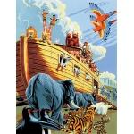 "Royal & Langnickel® Painting by Numbers™ 8 3/4 x 11 3/8 Junior Small Set Noah's Ark: 8 3/4"" x 11 3/8"", (model PJS23), price per set"