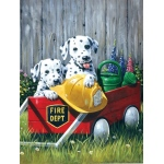 "Royal & Langnickel® Painting by Numbers™ 8 3/4 x 11 3/8 Junior Small Set Fire Waggin; Board Size: 8 3/4"" x 11 3/8""; (model PJS46), price per set"