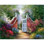 "Royal & Langnickel® Paint Your Own Masterpiece™ 11 x 14 Garden Gate; Board Size: 11"" x 14""; (model POM-SET12), price per set"
