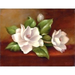 "Royal & Langnickel® Paint Your Own Masterpiece™ 11 x 14 Magnolias; Board Size: 11"" x 14""; (model POM-SET15), price per set"