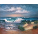 "Royal & Langnickel® Paint Your Own Masterpiece™ 11 x 14 Hampton Beach; Board Size: 11"" x 14""; (model POM-SET6), price per set"