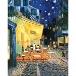 "Royal & Langnickel® Paint Your Own Masterpiece™ 11 x 14 Terrace At Night; Board Size: 11"" x 14""; (model POM-SET9), price per set"