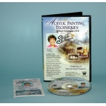 Susan Scheewe DVD: Acrylic Techniques, 2 Hour