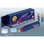 Sakura® Electric Eraser Kit; Material: Vinyl; Refillable: Yes; Type: Battery; (model SE2000), price per each