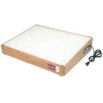 "Gagne Porta-Trace Lightbox: 18"" x 24"", Oak Frame"