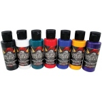 Wicked Colors™ Airbrush Paint Sampler 8-Color Set: Multi, Bottle, 2 oz, Airbrush, (model W102-00), price per set