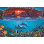 "Royal & Langnickel® Painting by Numbers™ 12 3/4 x 15 3/4 Adult Set Ocean Life; Board Size: 12 3/4"" x 15 3/4""; (model PAL20), price per set"