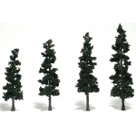 "Woodland Scenics® 4""-6"" Ready Made Tree Value Pack Conifer; Quantity: 24-Pack; Size: 4""- 6""; Type: Tree; (model WSTR1581), price per each"