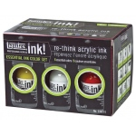 Liquitex® Professional Acrylic Ink! Essential Set; Color: Multi; Format: Jar; Size: 30 ml; Type: Acrylic; (model 104201), price per set